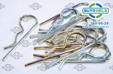 Шплинты игольчатые оцинкованные по DIN 11024 форма Е