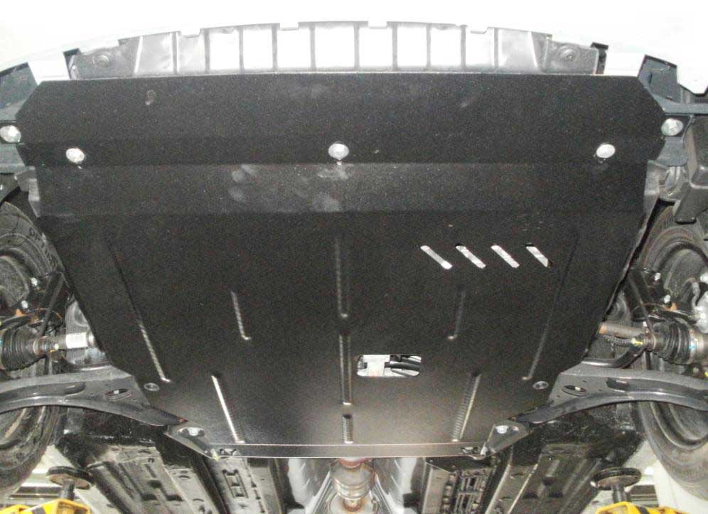 Защита картера двигателя на хендай солярис своими руками