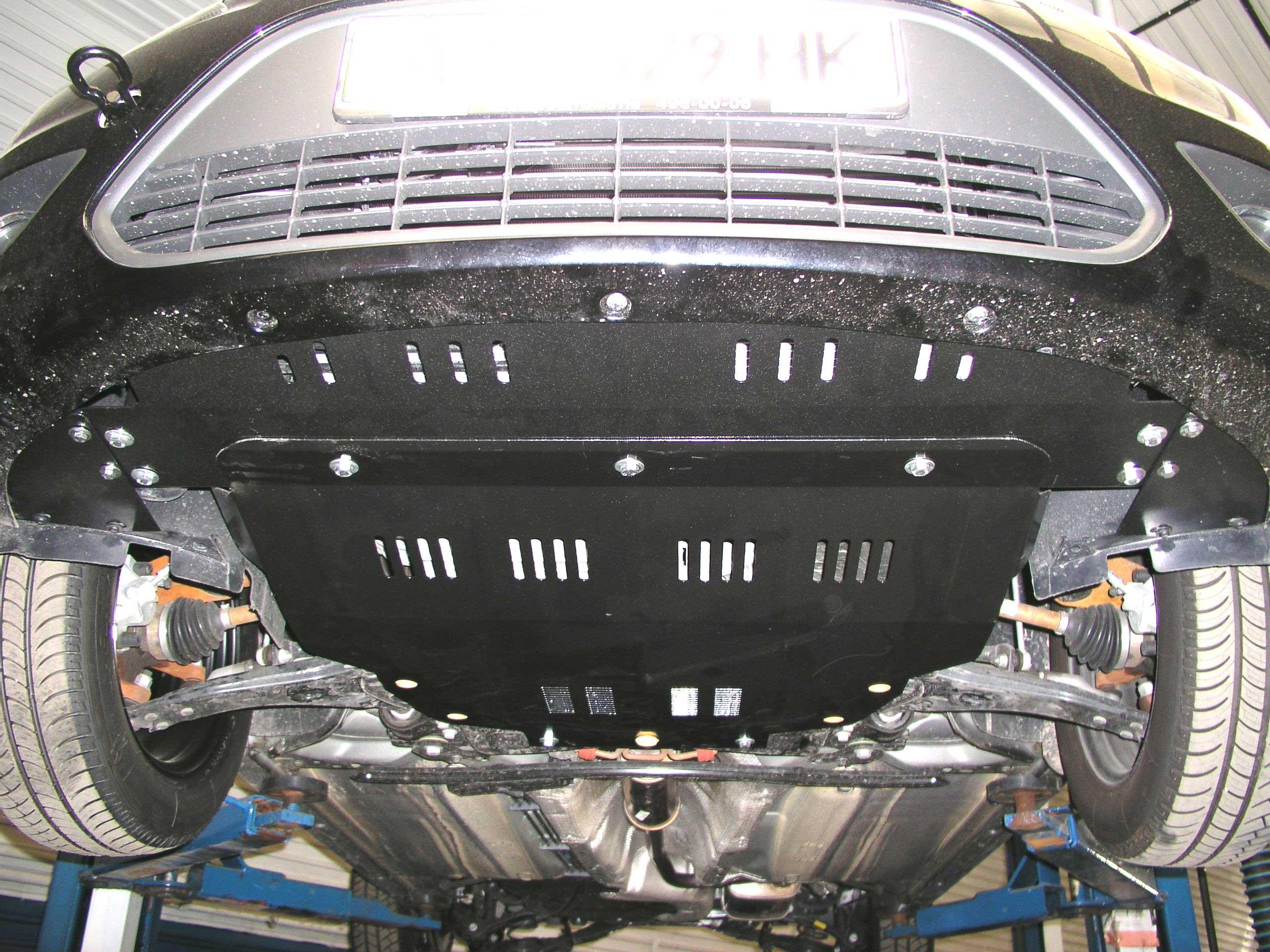 защита двигателя ford focus 2