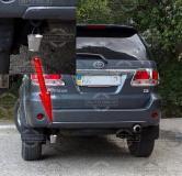 Маленькое ведро на задний бампер автомобиля/фаркоп