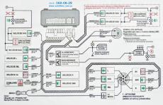 модуль фаркопа mp2-d1 электронный блок управления