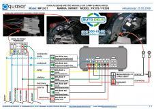 модуль фаркопа mp2-d1 электронный блок управления для , модуль прицепного устройства