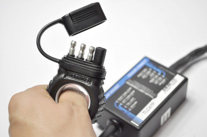 Переходник с 4 контактной розетки фаркопа