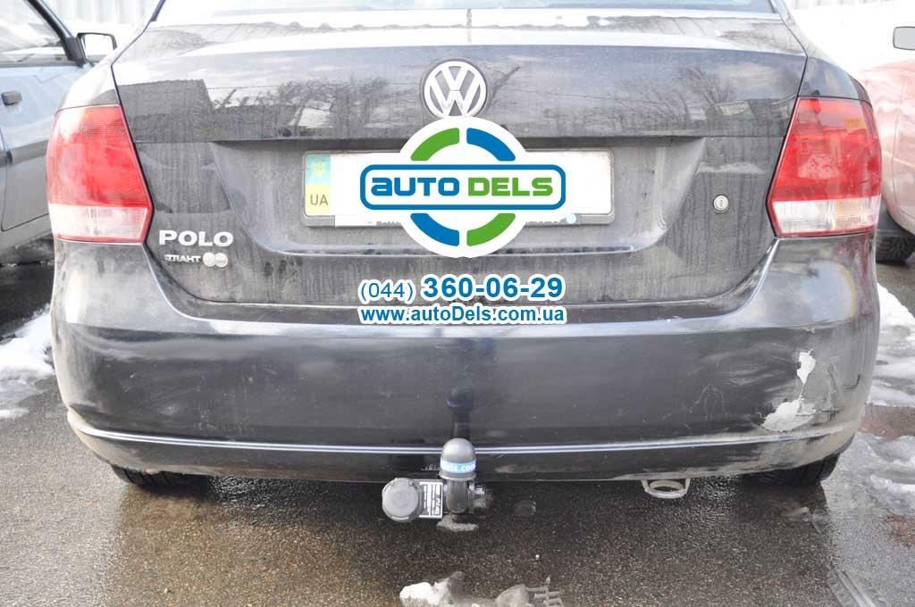 Фаркоп Volkswagen Polo седан Купить фаркоп на Volkswagen Polo седан в Киеве. Продажа прицепных устройств для Volkswagen Polo сед
