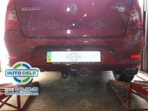 фаркоп Dacia Logan седан