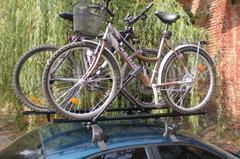 велокрепления на крышу автомобиля на фаркоп киев
