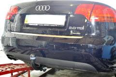 установка фаркопа на Audi A4