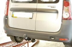 установка фаркопа на Dacia Logan MCV