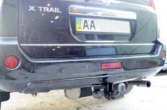 установка фаркопа на Nissan X-Trail