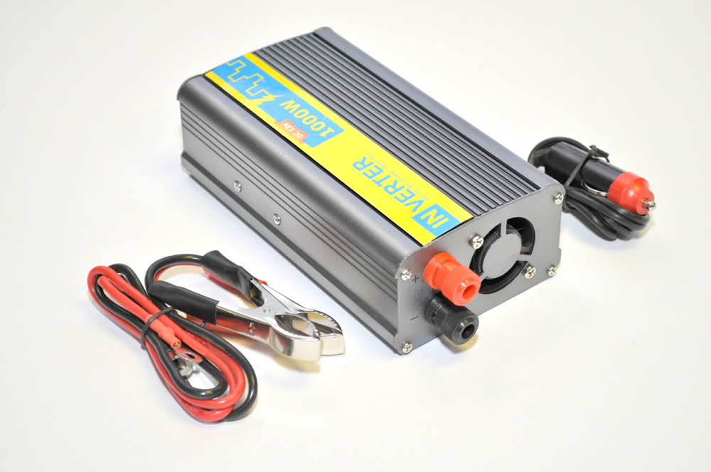 Автомобильный преобразователь с 12 на 220 вольт