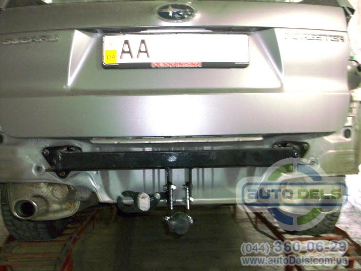 Установка фаркопа Subaru Forester 2008-2012