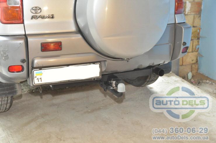 Установка фаркопа Toyota Rav4 2000-2006