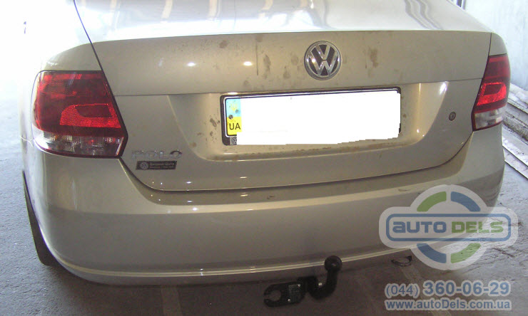 Установка фаркопа Volkswagen Polo 2010-2020