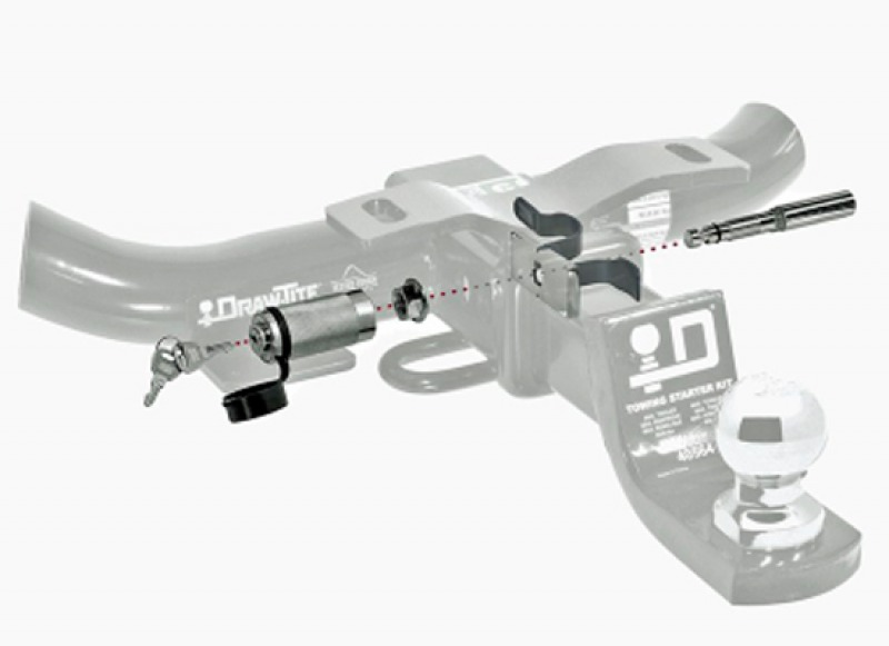 Антистук с замком 2в1 для фаркопа PS63100